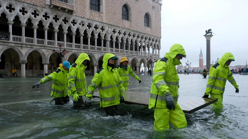 VIDEOS: Lluvias torrenciales provocan inundaciones y cierres de escuelas y carreteras en Italia