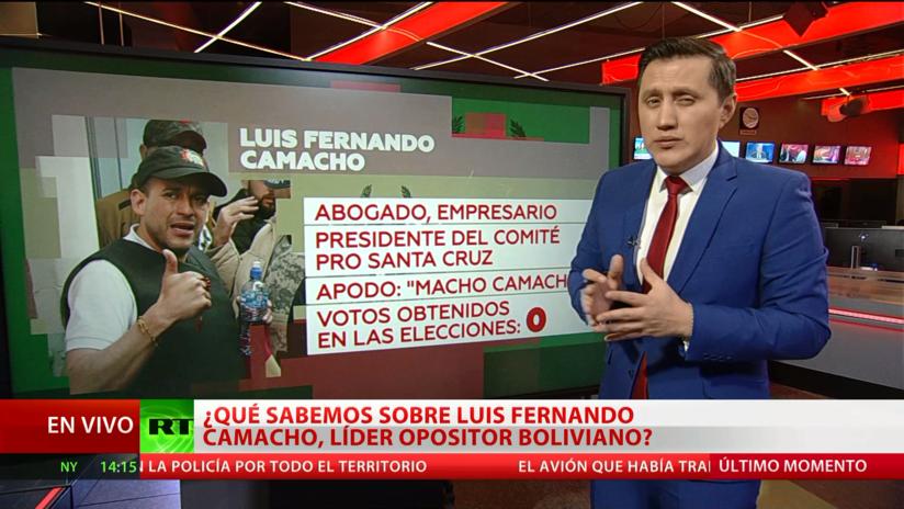 ¿Qué sabemos sobre Luis Fernando Camacho, líder opositor boliviano?