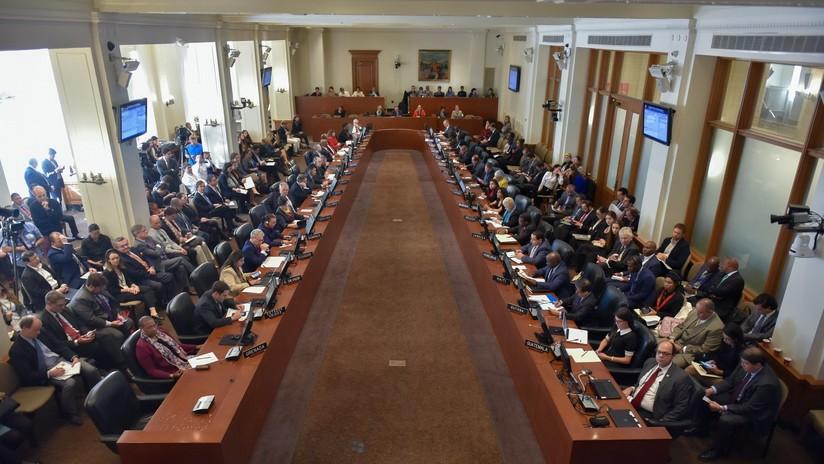 """VIDEO: La OEA debate la situación de Bolivia dividida entre las condenas al golpe de Estado y la tesis de """"autogolpe"""" de Almagro"""