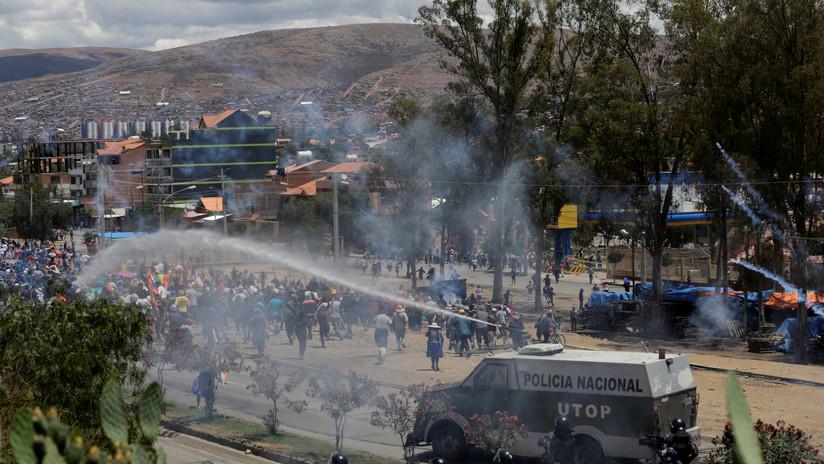 Defensoría denuncia la muerte de 4 personas en medio de las protestas en Bolivia
