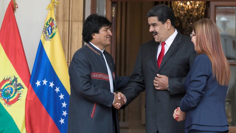 """Maduro: """"Evo Morales sigue siendo constitucionalmente el presidente de Bolivia"""""""