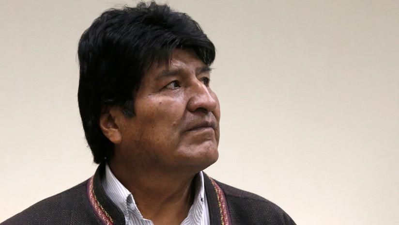 Evo Morales actualiza desde México su perfil en Twitter