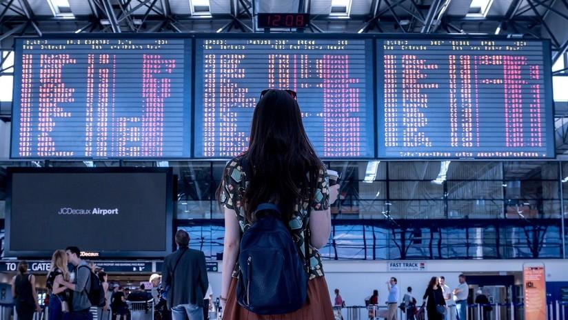 FOTOS, VIDEO: Cerdita anima en un aeropuerto de EE.UU. a los pasajeros estresados