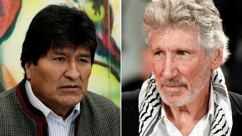 """""""Espero que tu exilio sea corto, tu gente te necesita"""": Roger Waters envía un mensaje de apoyo a Evo Morales (VIDEO)"""