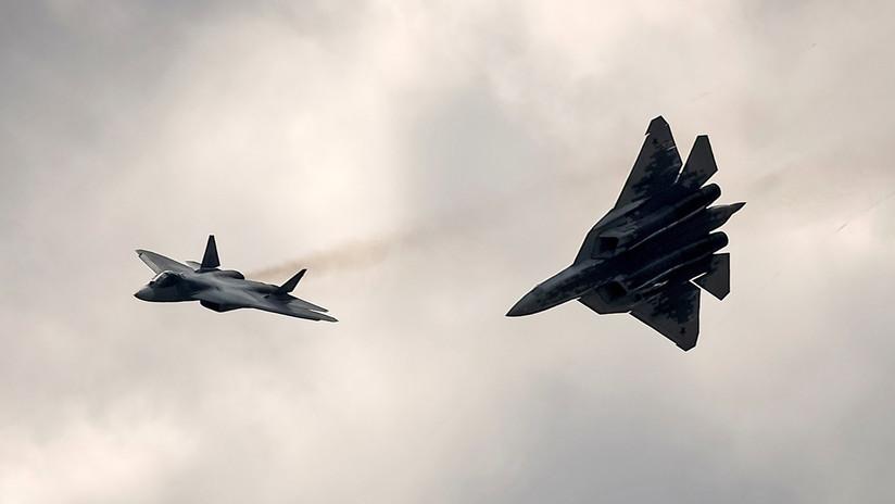 Rusia exhibirá el caza Sukhoi de 5.ª generación en la próxima muestra aérea en Dubái