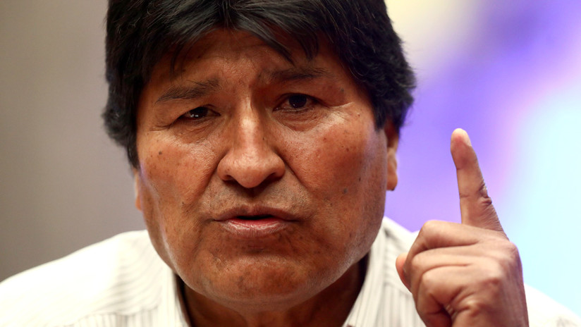 """Evo Morales denuncia represión contra legisladores en Bolivia en medio de """"golpe racista y fascista"""""""
