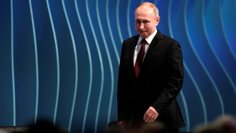 Putin: La competencia desleal, las sanciones y el proteccionismo florecen en el comercio mundial