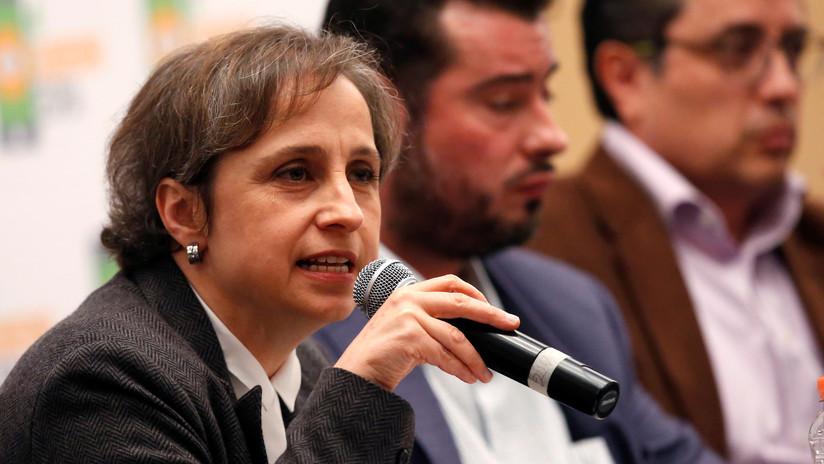 """Aristegui: """"Usar a los medios para validar un golpe de Estado es muy peligroso"""""""