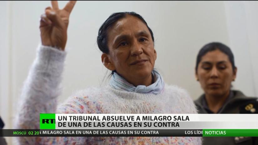 Argentina: Un tribunal absuelve a Milagro Sala en una de las causas en su contra