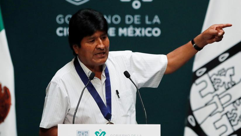 """Evo Morales: """"El golpe de Estado es una conspiración política y económica que viene desde EE.UU."""""""