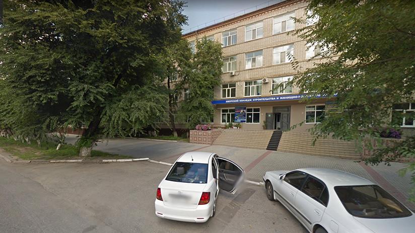 Rusia: Dos muertos y tres heridos tras un tiroteo en un instituto de la construcción