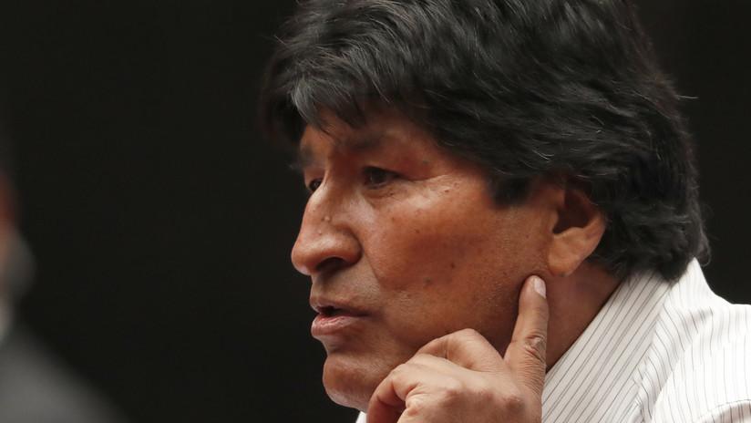 Morales pide a la ONU, al papa Francisco y los países europeos apoyar el diálogo en Bolivia