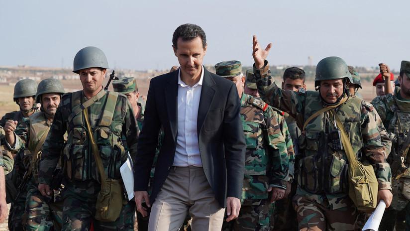 """Al Assad: """"EE.UU. está siguiendo los pasos de los nazis para hacerse con el petróleo"""""""