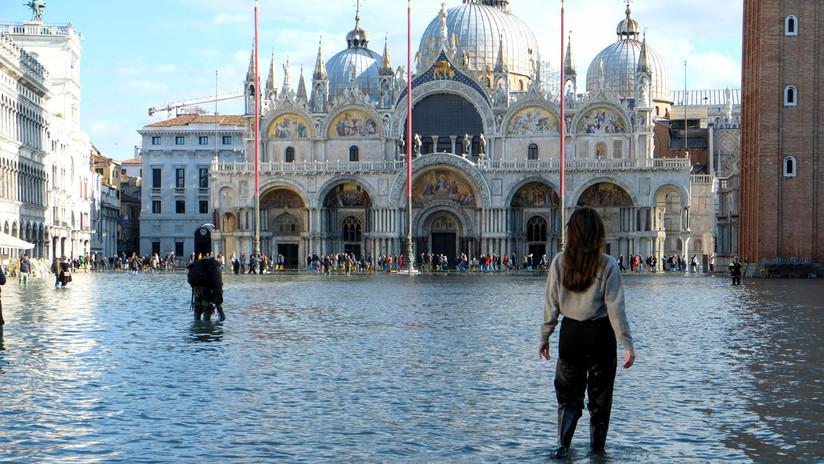 El Gobierno italiano declara el estado de emergencia en Venecia por las fuertes inundaciones