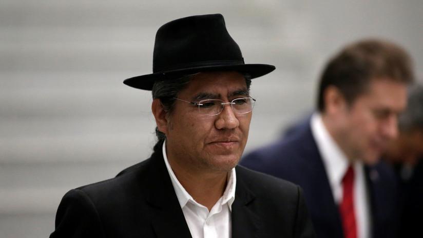 """Canciller de Bolivia: """"Mientras no se debata la renuncia, el presidente Evo Morales seguirá ejerciendo"""""""