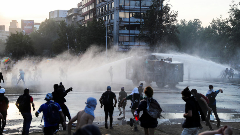 """Embajador argentino en Chile: """"La zona céntrica de Santiago es tierra de nadie"""""""