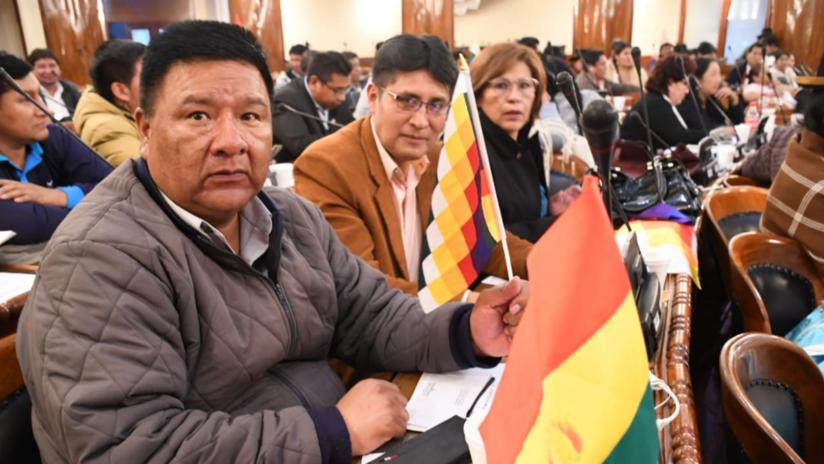 Líder de la bancada del partido de Morales es elegido presidente de la Cámara de Diputados de Bolivia