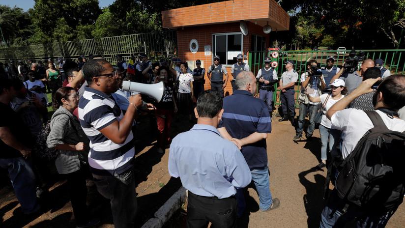 """Rusia califica de """"piratería del siglo XXI"""" el intento de capturar la embajada venezolana en Brasil"""