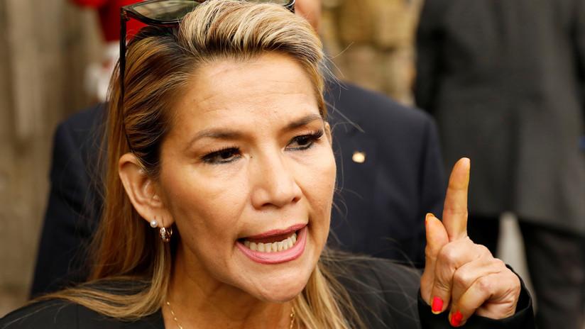 """Jeanine Áñez dice que Evo Morales no podrá presentarse a las elecciones: """"Vayan buscando candidato"""""""
