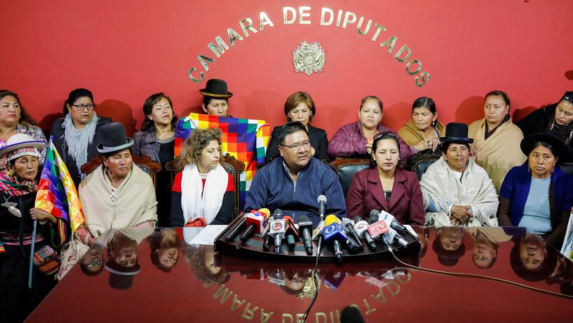 Legisladores del partido de Evo Morales se instalan en la Asamblea de Bolivia y declaran una huelga de hambre