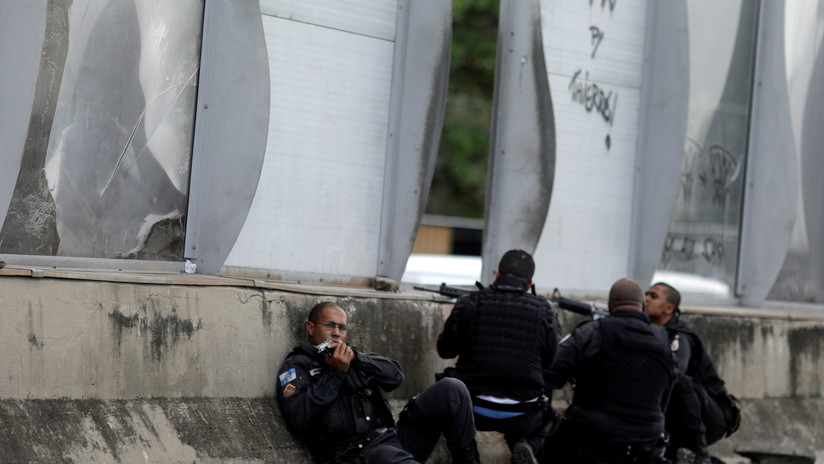 Organización social denuncia agresiones de la Policía Militar en una favela de Río de Janeiro