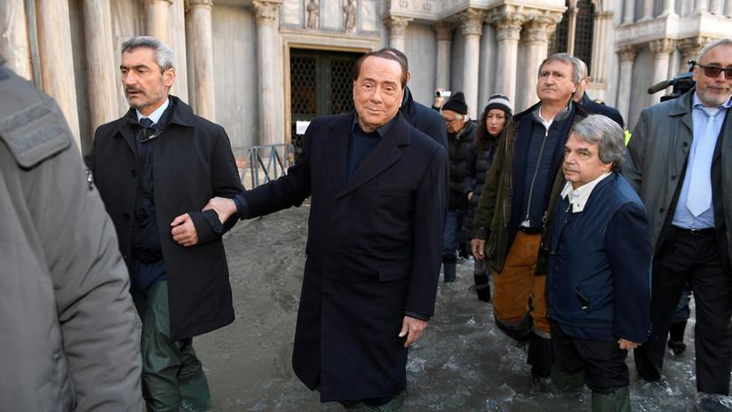 ¿Karma instantáneo?: se inunda consejo regional italiano al poco de rechazar medidas contra el cambio climático (FOTO)
