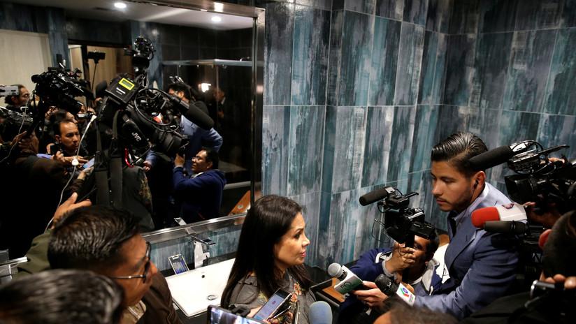 """Ministra de comunicación de facto en Bolivia acusa a periodistas nacionales y extranjeros de """"sedición"""""""