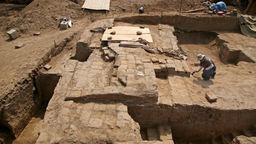 Descubren en Perú un templo de 3.000 años de antigüedad con 21 sepulturas