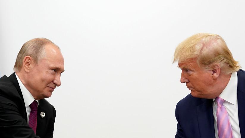 """Putin: La visita de Trump a Rusia por el Día de la Victoria """"sería un paso correcto"""", incluso durante su campaña"""
