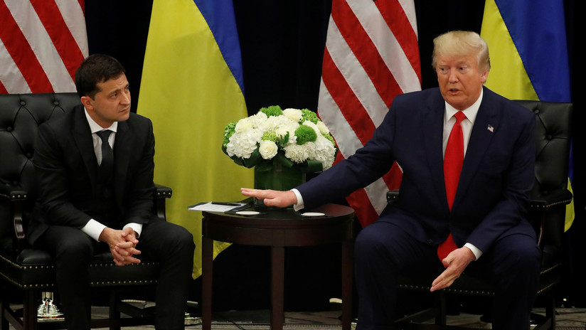 La Casa Blanca publica una transcripción aproximada de la llamada telefónica de abril entre Trump y Zelenski