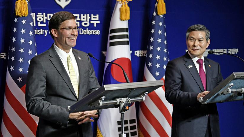 EE.UU. presiona a Corea del Sur para pagar cinco veces más por sus tropas en la península