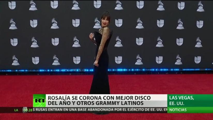 Gala de los premios Grammy Latinos en Las Vegas