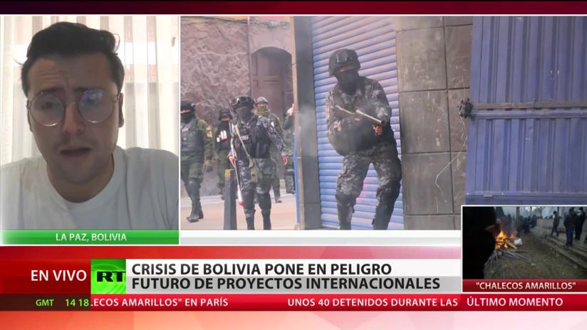 La crisis de Bolivia hace peligrar proyectos internacionales
