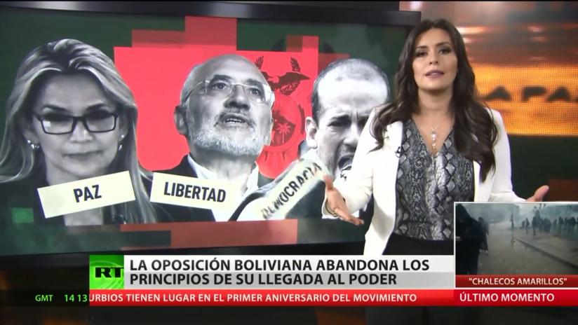 Cómo han cambiado los principios de la oposición boliviana en los últimos años