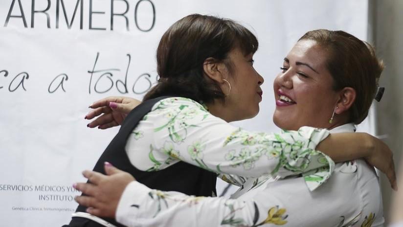 Dos hermanas colombianas separadas por el volcán que arrasó su pueblo se reencuentran 34 años después
