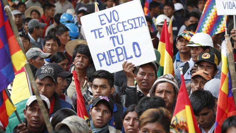 Ascienden a nueve los muertos por la represión de la protesta de cocaleros contra el Gobierno de facto en Bolivia