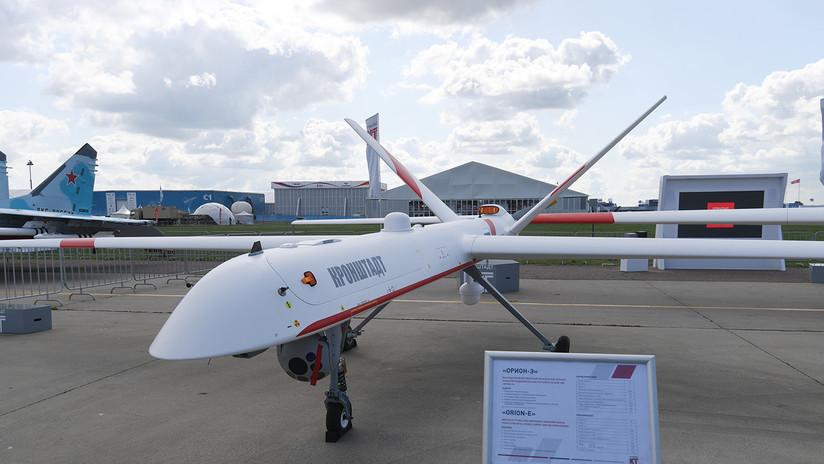 VIDEO: Un dron militar se estrella cerca de casas en un pueblo ruso