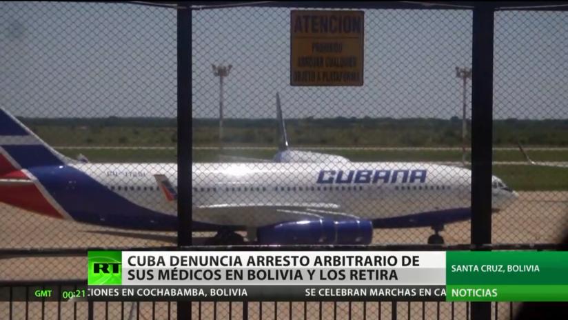 Cuba denuncia arrestos arbitrarios de sus médicos en Bolivia y los retira