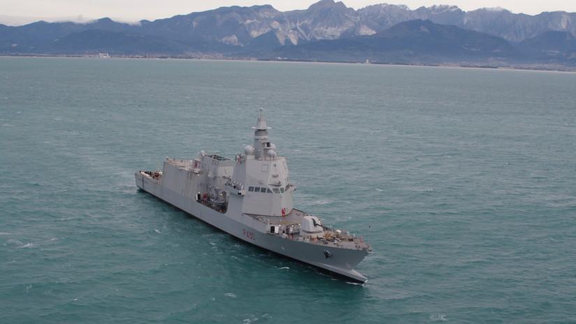 Realiza las pruebas de mar un patrullero italiano de nueva generación