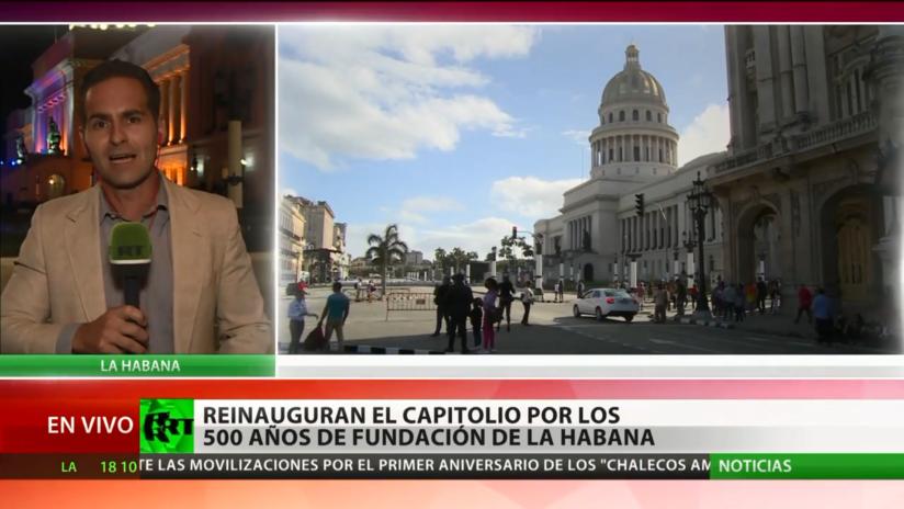 Reinauguran el Capitolio de La Habana por los 500 años de fundación de la ciudad