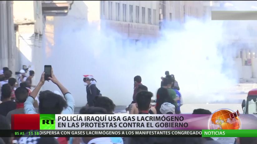 Irak: Choques entre Policía y manifestantes en una nueva protesta antigubernamental