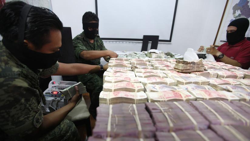 México bloquea más de 48 millones de dólares de cuentas de distintos cárteles