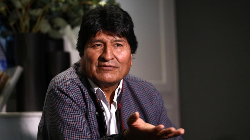 """Evo Morales teme """"mucho"""" que se desate una guerra civil en Bolivia y llama al diálogo nacional"""