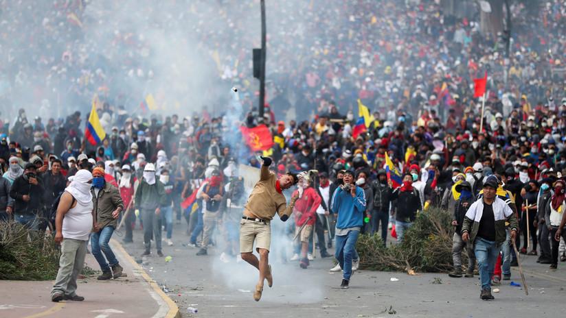 ¿Encubrimiento en vez de cobertura? Cómo Ecuador cortó la señal de RT y cargó contra otros medios en las protestas