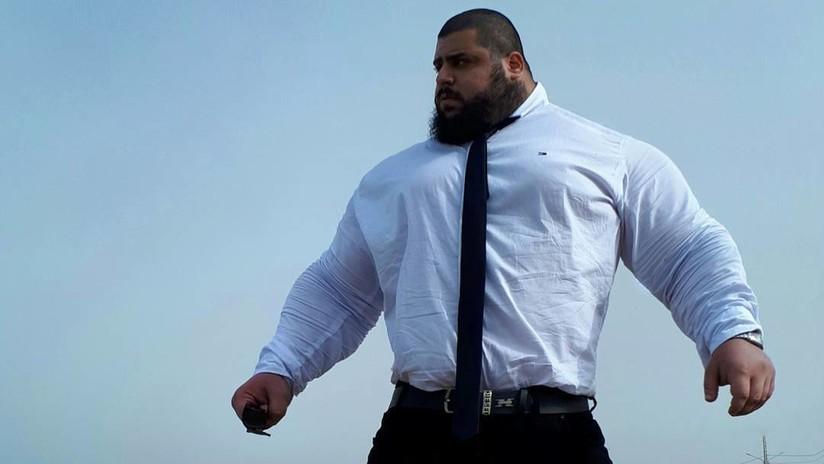 El 'Hulk iraní' participará en una pelea de boxeo sin guantes