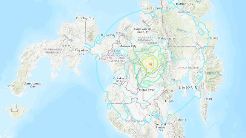 Un terremoto de 5,9 sacude Filipinas