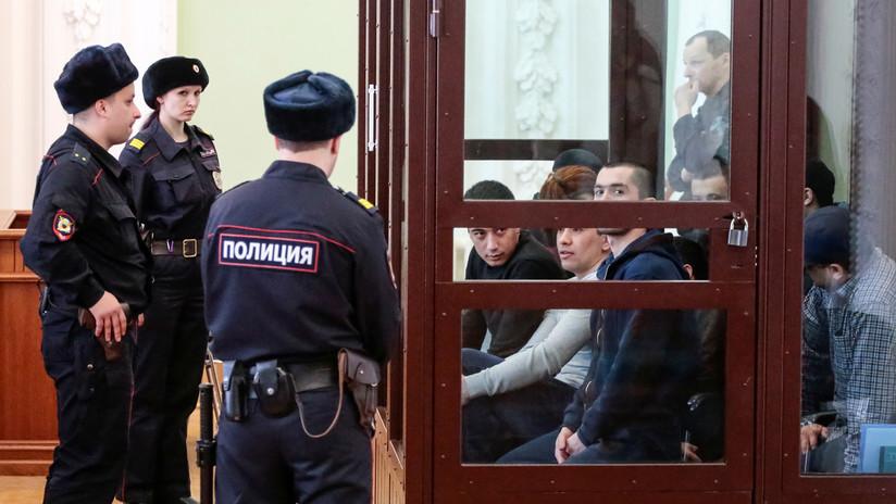 Exigen cadena perpetua para 4 acusados del atentado terrorista en el metro de San Petersburgo en 2017