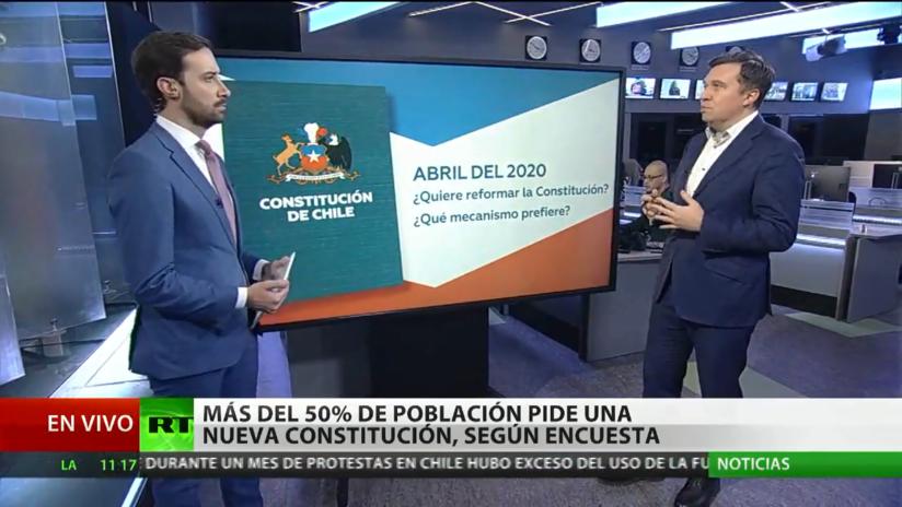 Más del 50% de la población chilena pide una nueva constitución