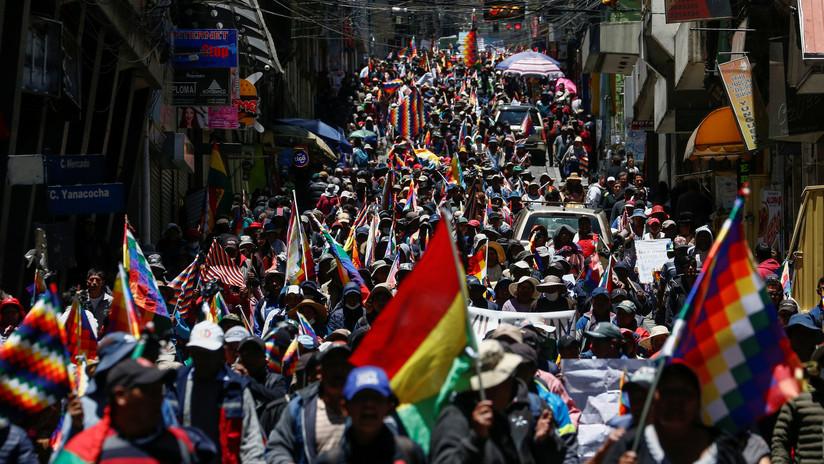 """Evo Morales: """"Mesa, Camacho y Áñez tienen miedo de que vuelva para pacificar el país porque quieren escarmentar al pueblo"""""""