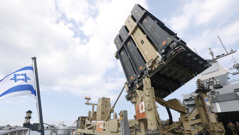 Israel intercepta 4 proyectiles lanzados desde Siria
